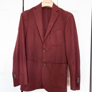 Suitsupply Red Pure Wool Copenhagen Jacket - 36r